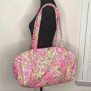 Vera Bradley Petal Pink Duffle Bag